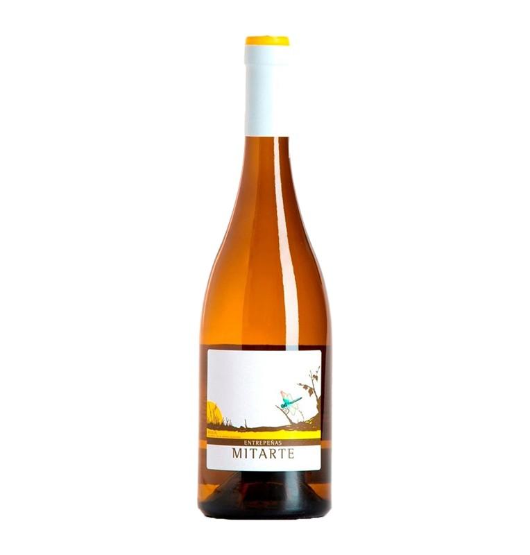 Bouteille de Vin blanc espagnol Entrepeñas 2016 de bodegas Mitarte - AOC Rioja