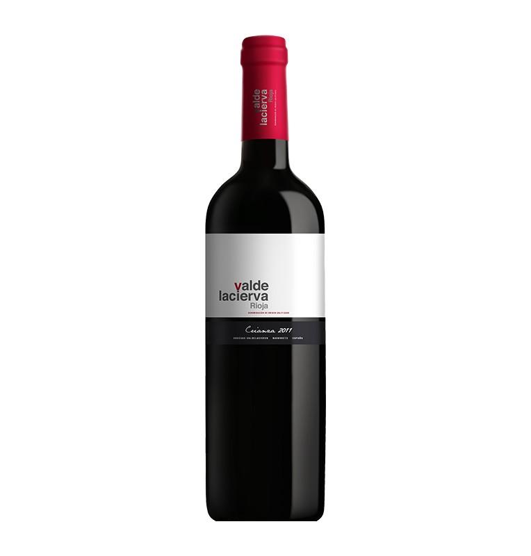 Bouteille de Vin rouge espagnol Crianza de Valdelacierva - AOC Rioja