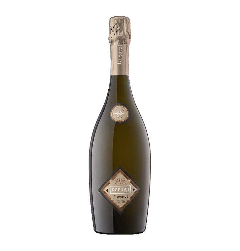 Bouteille de Cava vin pétillant espagnol Refugi de Loxarel viticultors - AOC Penedès