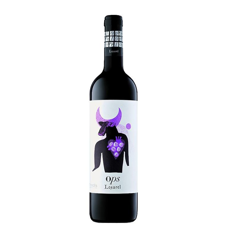 Bouteille de vin rouge espagnol OPS de Loxarel viticultors - AOC Catalunya