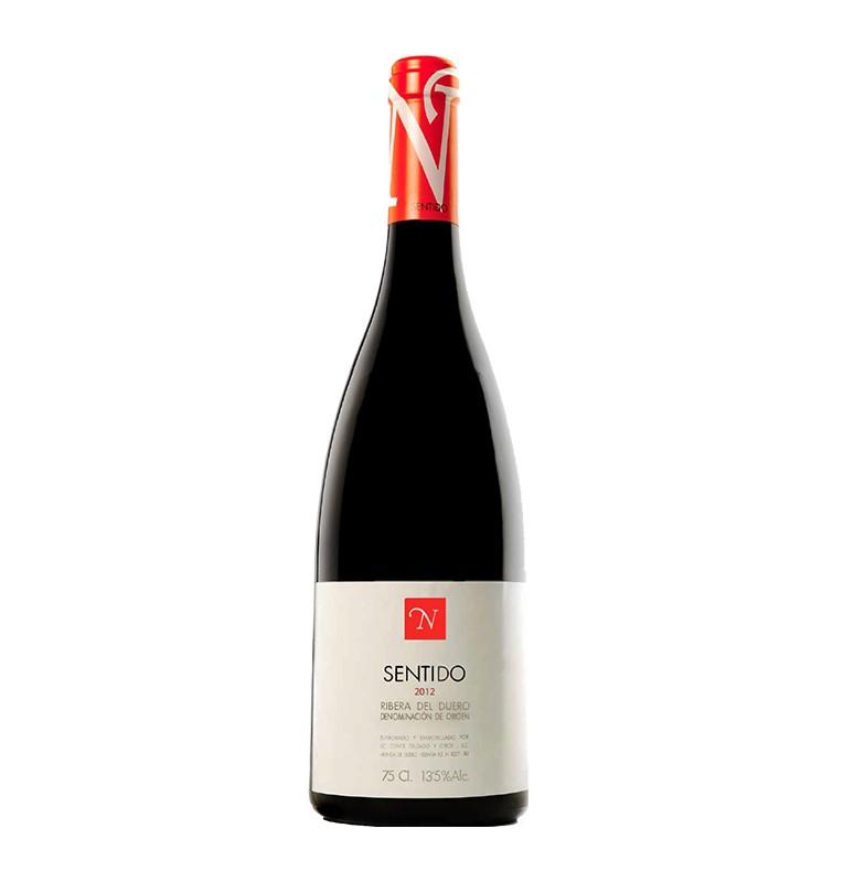 Bouteille de vin rouge espagnol Sentido de Bodegas Neo, AOC Ribera del Duero