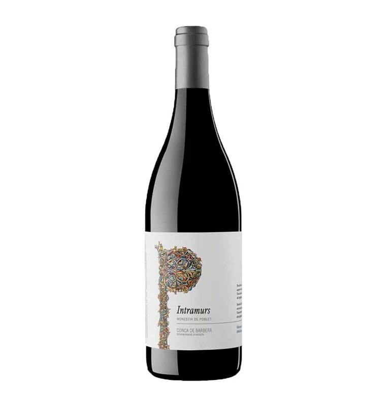 Bouteille de vin rouge espagnol Intramurs Negre de Bodegas Codorniu, AOC Conca Barbera