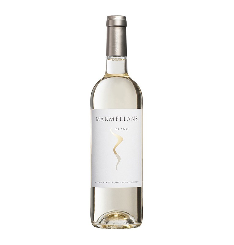 Bouteille de vin blanc espagnol Marmellans blanc de Celler de Capcanes, AOC Catalunya