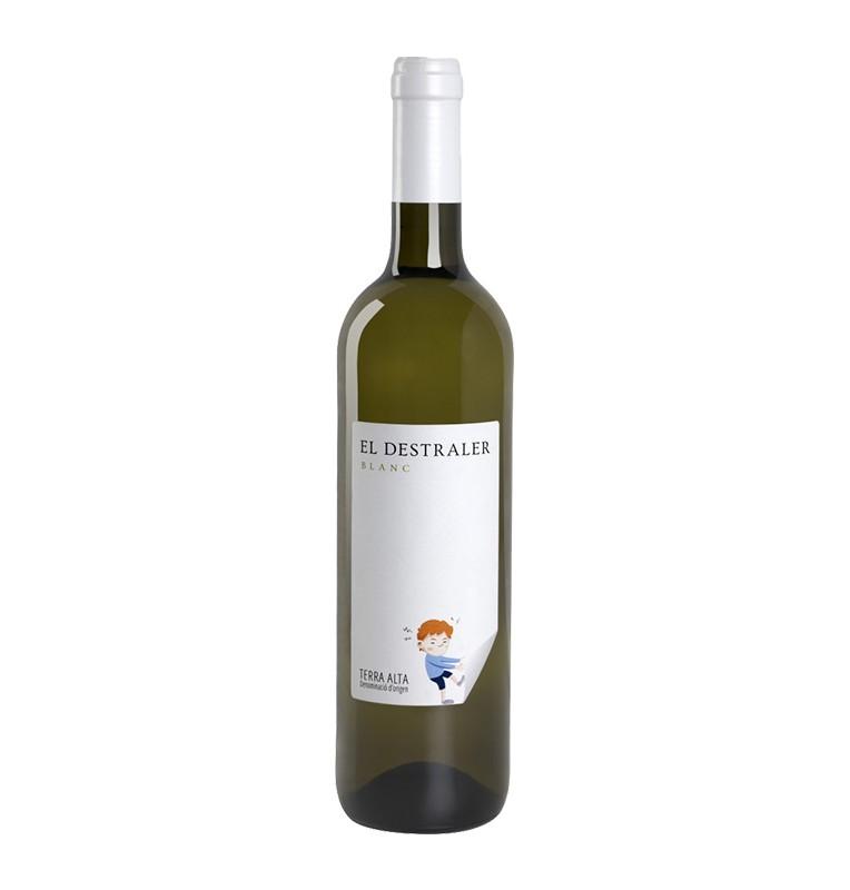 Bouteille de vin blanc Destraler Blanco 2018 de Bodegas Altipla Wines