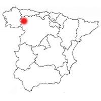 Localisation de l'appellation Bierzo (Espagne)