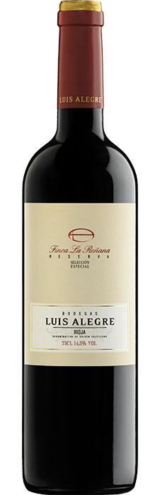Finca la Reñana 2012 - Vin rouge espagnol Crianza de Bodegas Luis Alegre