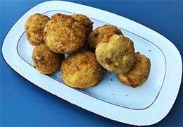 Croquettes de cèpes à l'huile d'olive